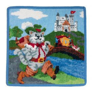 Feiler Fairy Tale Washcloth - The Puss in Boots